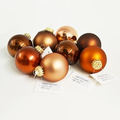 GLASS CHRISTMAS BAUBLE 60MM 70MM 80MM.