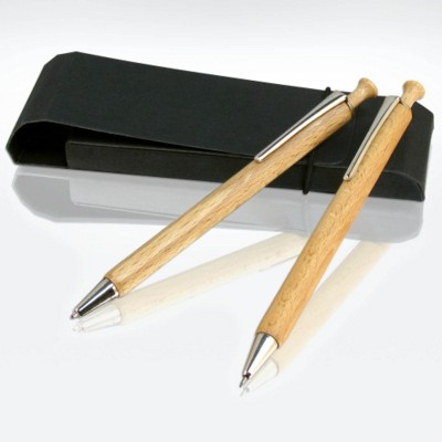 GREEN & GOOD ALBERO EXECUTIVE COMBINATION PEN AND PENCIL SET.