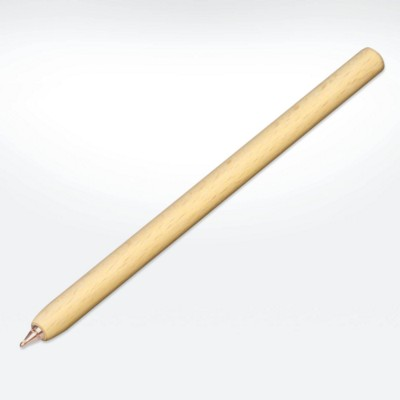GREEN & GOOD SUSTAINABLE WOOD SPAR PEN in Natural.