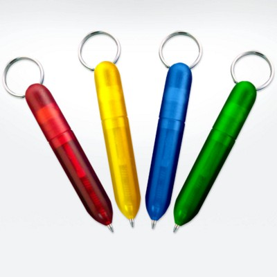 GREEN & GOOD BIODEGRADABLE KEYRING PEN.