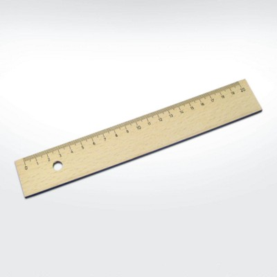 GREEN & GOOD SUSTAINABLE WOOD 20CM RULER.