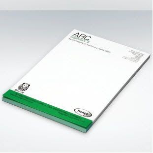 GREEN & GOOD RECYCLED PAPER A6 CONFERENCE PAD.