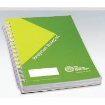 GREEN & GOOD RECYCLED WIREBOUND NOTE BOOK A6.