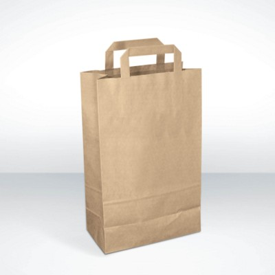 GREEN & GOOD RECYCLED PAPER CARRIER BAG.