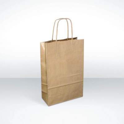 GREEN & GOOD A4 KRAFT PAPER BAG.