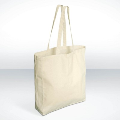 GREEN & GOOD CAMDEN MARKET SHOPPER TOTE BAG in Natural.