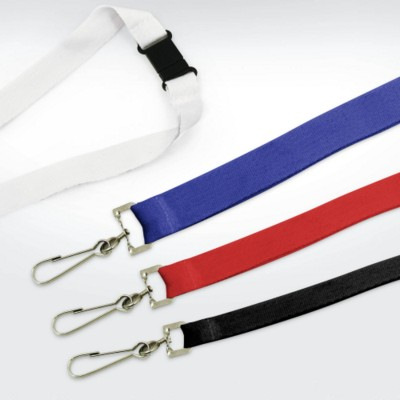 GREEN & GOOD RECYCLED PET LANYARD.