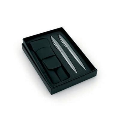 CONSORT PEN GIFT BOX with Pouch in Black.