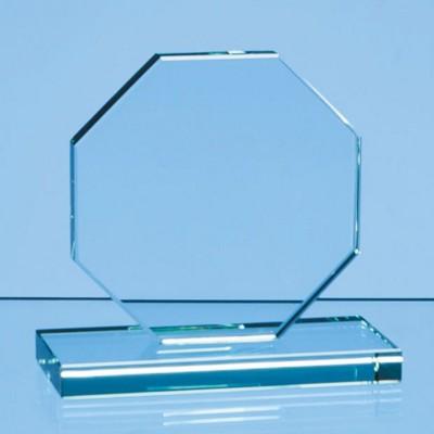 JADE GLASS OCTAGON AWARD.