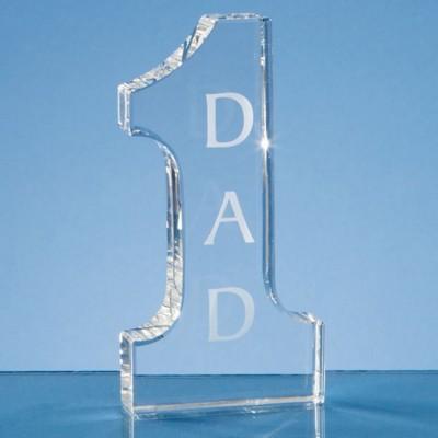 OPTICAL CRYSTAL NO1 GLASS AWARD.