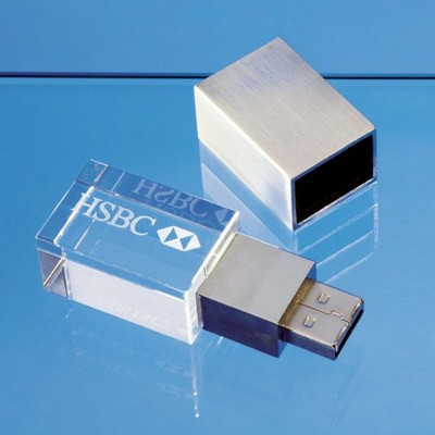 4GB OPTICAL CRYSTAL MEMORY STICK.