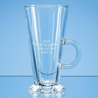 370ML BARISTA LATTE GLASS.