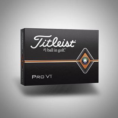 TITLEIST PRO V1 GOLF BALL.