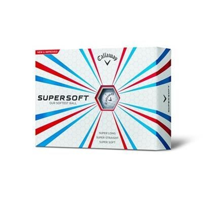 CALLAWAY SUPER SOFT GOLF BALL.