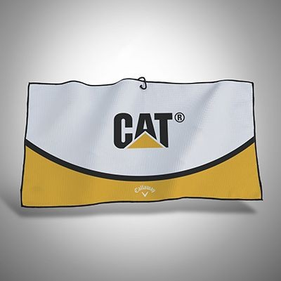 CALLAWAY CUSTOMS PLAYERS TRIFOLD GOLF TOWEL.
