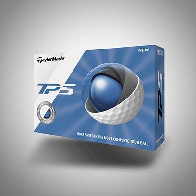 TAYLORMADE TP5 GOLF BALL.