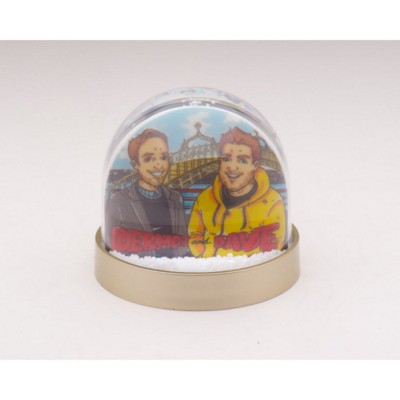 PHOTOGLOBE SNOW DOME SHAKER PAPERWEIGHT.