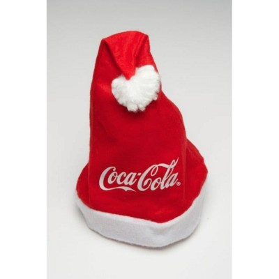 PROMOTIONAL BRANDED FATHER CHRISTMAS SANTA HAT.