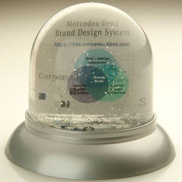 GRAND ROUND SNOW GLOBE SHAKER SNOW DOME SHAKER PAPERWEIGHT.