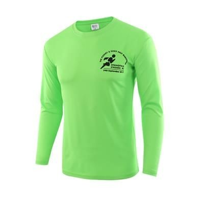 FAST-WICK BESPOKE LONG SLEEVE SPORTS TEE SHIRT.