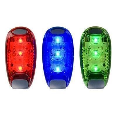 BE SEEN CLIP ON SAFETY LIGHT.