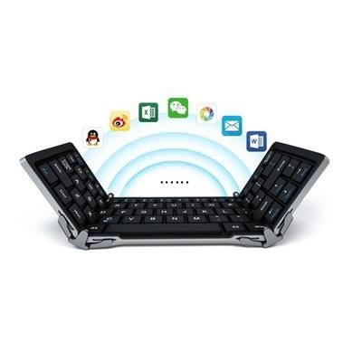 TRIFOLD BLUETOOTH KEYBOARD.