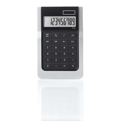 RAZOR SLIM LINE CALCULATOR in Silver.