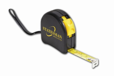 YTM03 TAPE MEASURE in Black.
