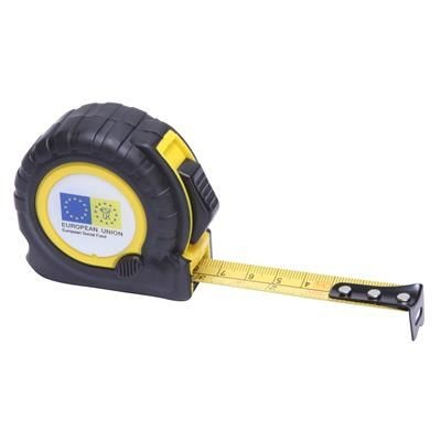 TT3 TAPE MEASURE in Black with Yellow Trim.