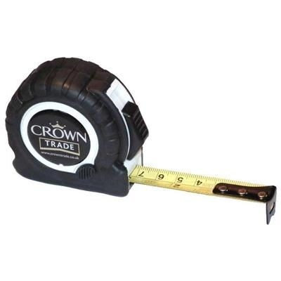 TT3 TAPE MEASURE in Black with White Trim.