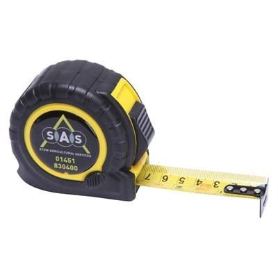 TT5 TAPE MEASURE in Black with Yellow Trim.