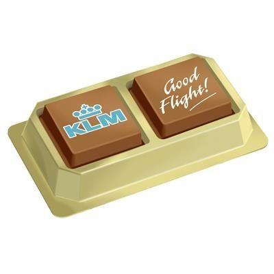 2X15G PRALINE CHOCOLATE.