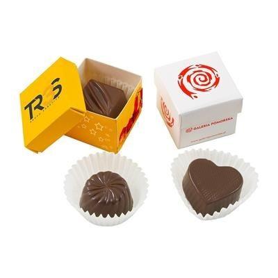 INDIVIDUAL BELGIAN CHOCOLATE in Gift Box.