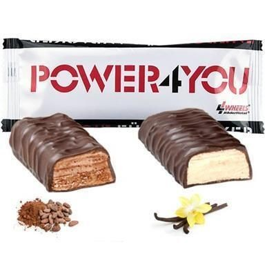50G PROTEIN BAR in White Wrapper.