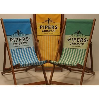 SOUTHSEA DECKCHAIR with Digital Print.