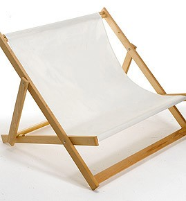 DOUBLE WIDE BOY BEACH DECK CHAIR.