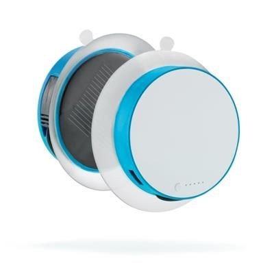 PORT SOLAR CHARGER 1,000 Mah in Turquoise.