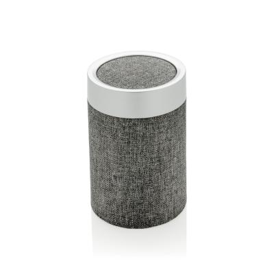 VOGUE ROUND SPEAKER in Grey.