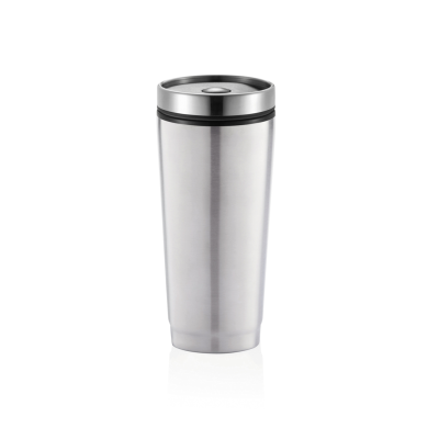 LEAK PROOF TUMBLER in Silver.