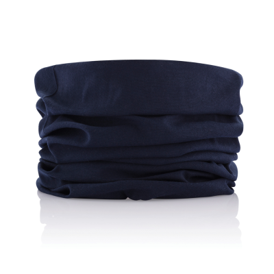 MULTIFUNCTION SCARF in Blue.