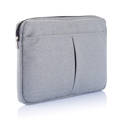 LAPTOP SLEEVE 15 INCH PVC FREE in Grey.