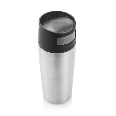 AUTO BUTTON LEAK PROOF TRAVEL MUG TUMBLER.