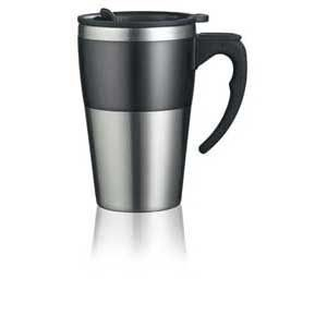 HIGHLAND THERMAL INSULATED TRAVEL MUG.