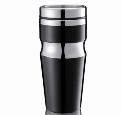 CONTOUR THERMAL INSULATED TRAVEL MUG.