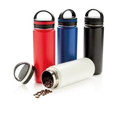 VACUUM THERMAL INSULATED LEAK PROOF WIDE MOUTH BOTTLE.