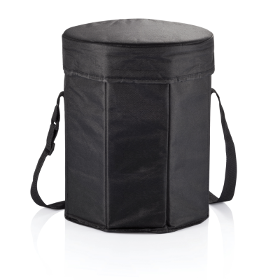 COLLAPSIBLE COOL BAG in Black.