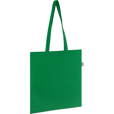 RECYCLED SEABROOK 5OZ RECYCLED COTTON TOTE GROUP in Green.