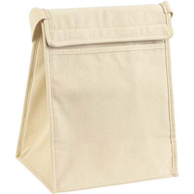 MARDEN COTTON LUNCH COOLER in Natural.