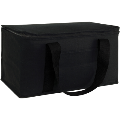 MARDEN 12 CAN COTTON COOLER in Black.