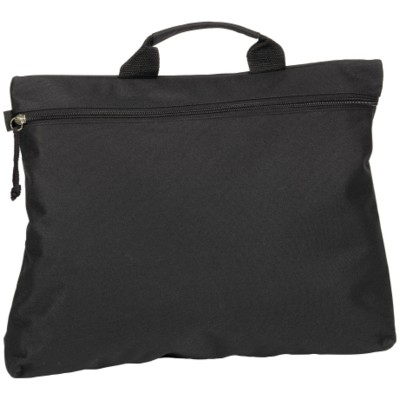 SWALE DOCUMENT BAG in Black.